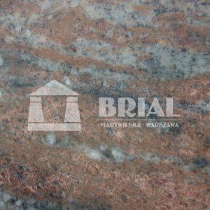 Lady, różowy granit, zielony granit, granit z kryształkami, granit na blat kuchenny