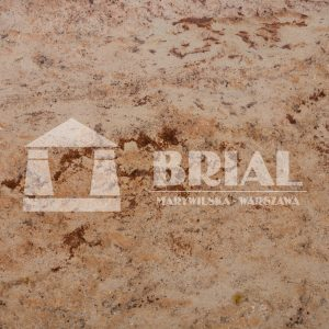 Shivakashi, granit indyjski, Indie, złty granit na blat kuchenny, kolor złoty w kuchni