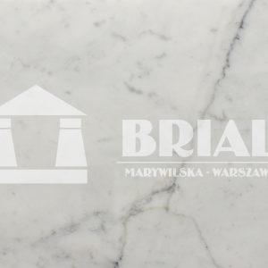 Marmur Bianco Carrara płytki 61x30,5x1 cm, białe płytki marmurowe, jasnoszare płytki marmurowe, włoski marmur